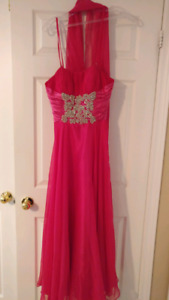 Rianna Couture Strapless Dress size 6 (petite)