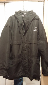 Almost New Official Embroidered Honda Winter 2 In 1 Jacket