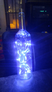 Last Minute Gift Idea! Decorative Light Bottle