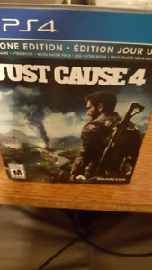 Just cause 4 ps4 day one edition