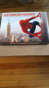 Spiderman limited edition dvd set, signed by John Romitas Jr.