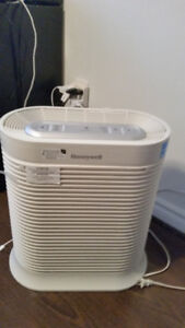 Honeywell True HEPA Console with brand new filter