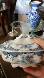 Vintage collection of China vases and terrines