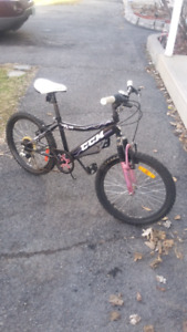 CCM girls mountain bicycle 6 speeds