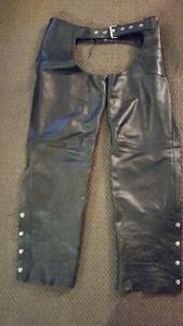Leather Chaps Unisex Size Large $85.00