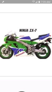 looking for a set of good fairings or parts bike