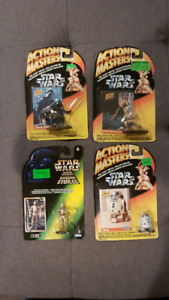 Star Wars figurines Action Masters