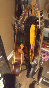 Triple instrument stand
