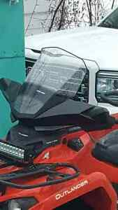 Can am windshield