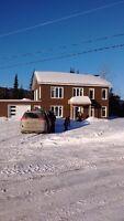 maison neuve au lac-beauport pour juiller ou avant