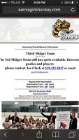 Looking for Midget Girls Hockey Players