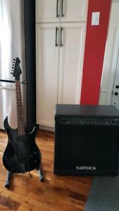 Guitare et Ampli  (epiphone ibanez squier esp ltd schecter)
