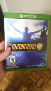 Guitar hero for xbox one with guitar
