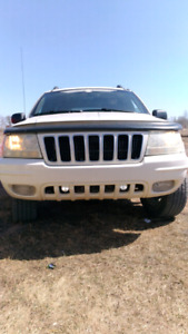 Jeep Grand Cherokee 2001 V8 4.7 with 230 k $3400 or Trade