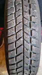 4 winter tires only used once  West Island Greater Montréal image 2