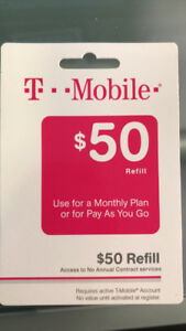 T-Mobile Pay As You Go Refill