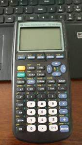 TI83 Plus Texas Instruments Graphing Calculator