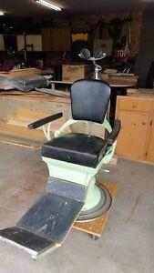Vintage Dentist Chair - Tattoo / man cave chair **Price cut**