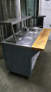 Table chaude / steamer