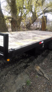 Deckover 24 Foot Trailer - REDUCED PRICE!