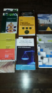 NSCC Office administration textbooks (1 year program)  ALL