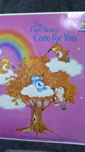 1980's The Care Bears Care For You vinyl record album