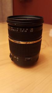 Tamron 28-75 F/2.8 pour Canon
