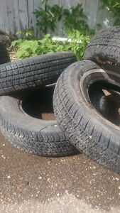 Set of four 205/75/15 Summer Tires