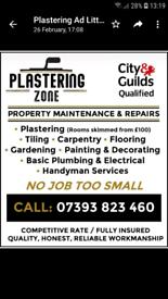 Plasteringzone Property Maintenance