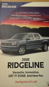 2008 Honda Ridgeline Pickup Truck