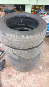 225/55/17 used tires $80