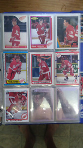 Hockey card. Lots of star rookie cards