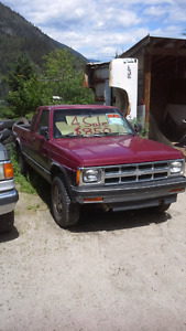 1993 chev s10 4x4 auto rusty but reliable
