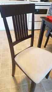 $120 for dinning table and matching 4 chairs