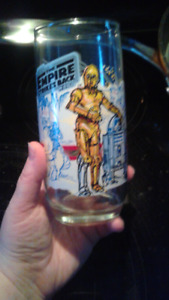 1980 Empire Strikes Back glass .. from Burger King