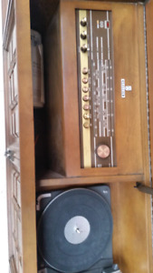 Antique Grundig Stereo Console