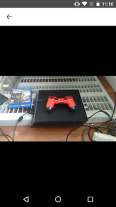 PlayStation 4 two games One controller