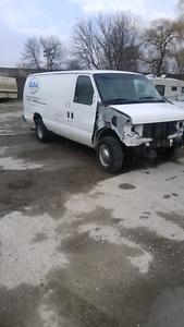 2006 Ford E-350 Diesel Extended Cargo Van