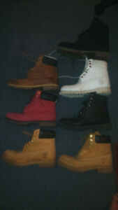 Bottes Timberland Boots size: 8 1/2 almost new and 100%real 110$