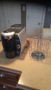 cafetière Tassimo et accessoire k-cup