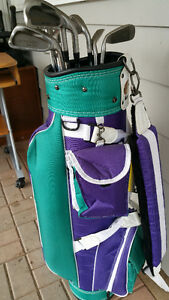 Golf Clubs and Bag $60.