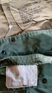 Army sleeping bags and covers
