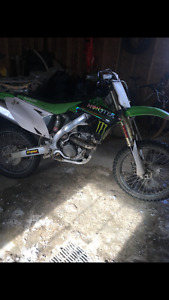 2010 Kx250f for sale for an old car