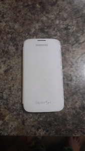Samsung Galaxy S4 Leather Plastic Flip case