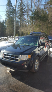 2008 ford escape6 cyl AWD for parts only