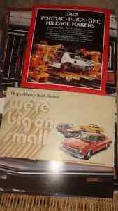 vintage/classic car sales brochures Belleville Belleville Area image 7