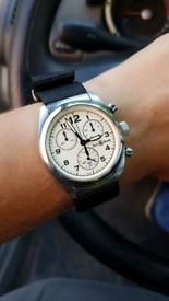 Bell and Ross Chronograph 220S vintage 34mm diameter
