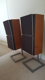 Vintage Bang and Olufsen speakers