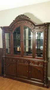 China cabinet and hutch new