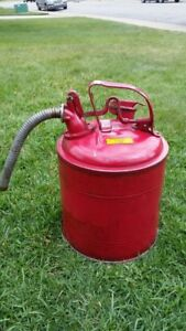 Steel Gas Safety Can